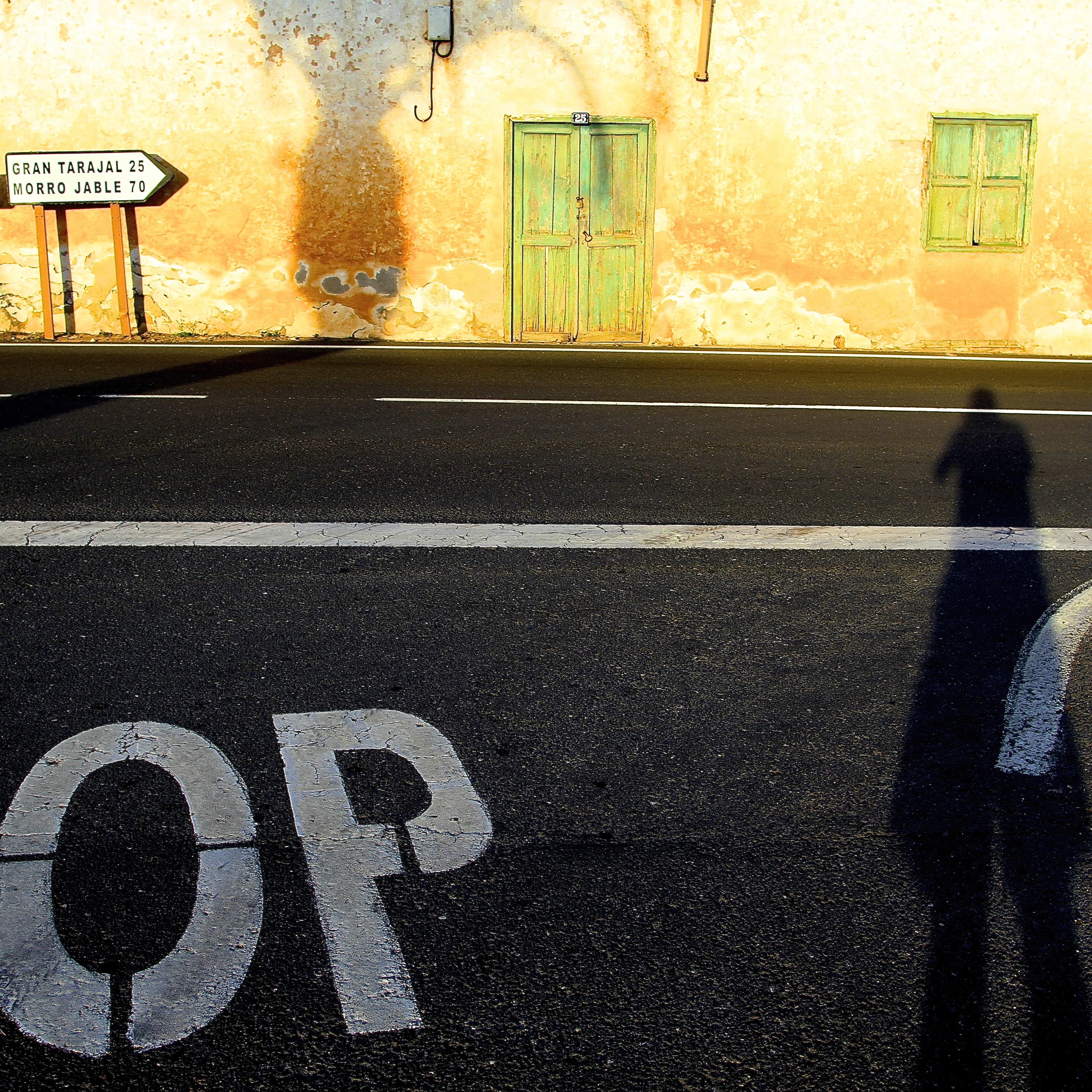 La sombra de un fotógrafo