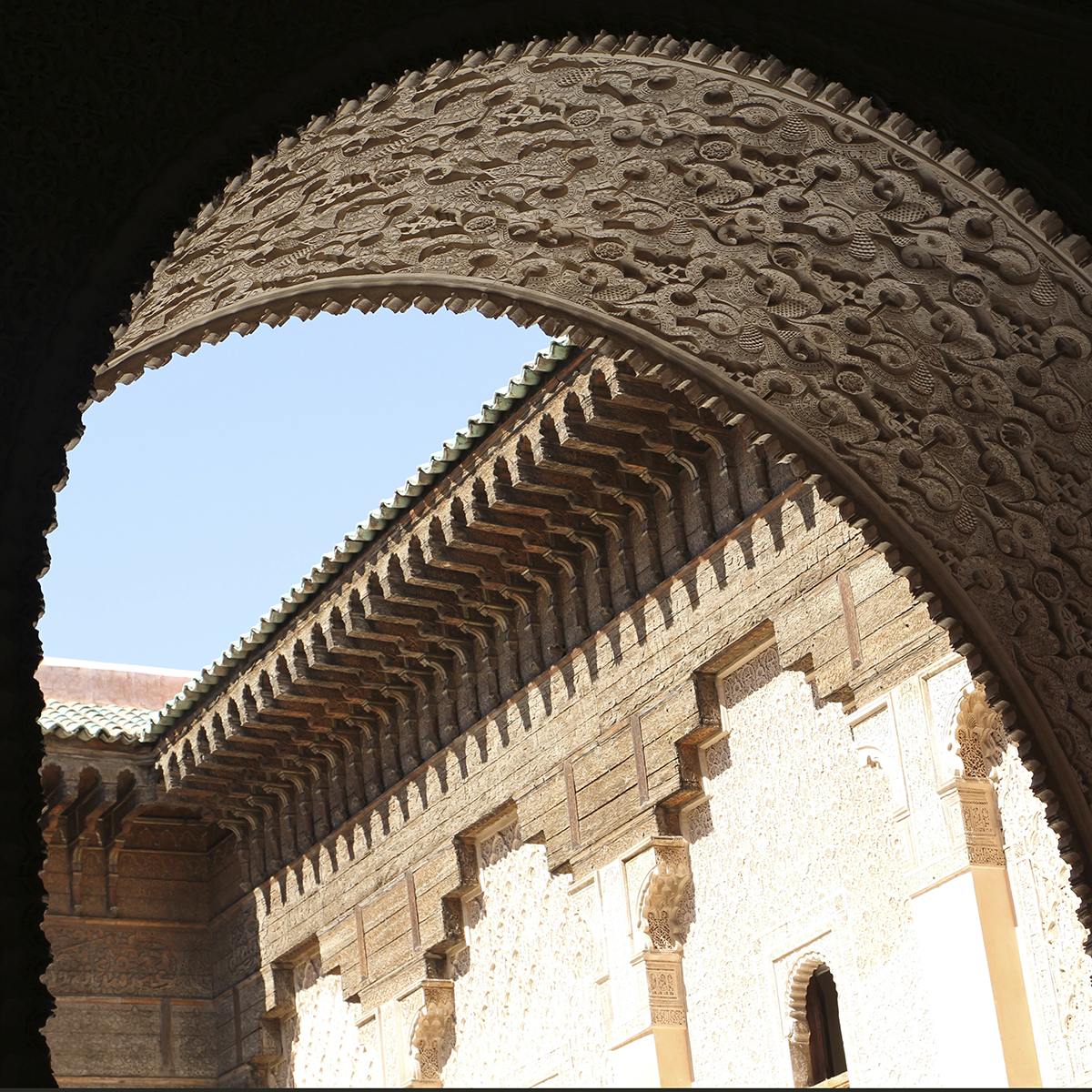 Blog de viajes. Madraza de Marrakech