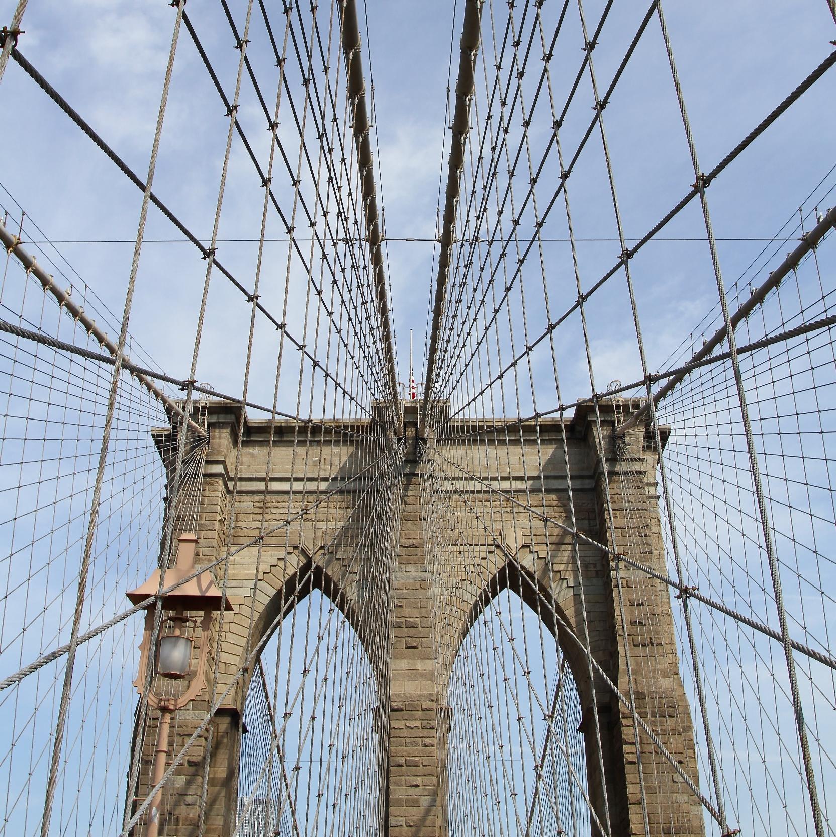 Puente de Brooklin en NY