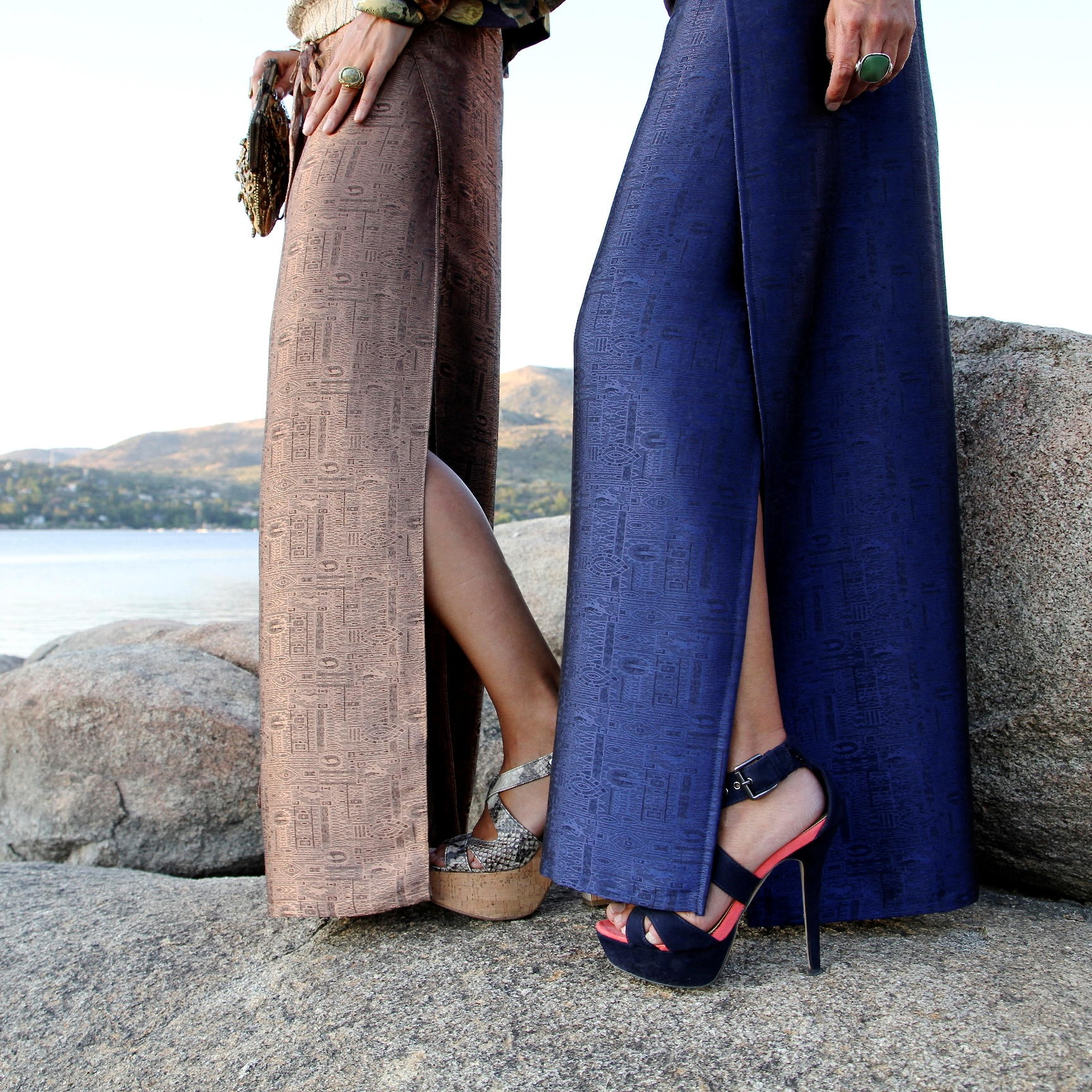 Moda asiática. Pantalones tailandeses