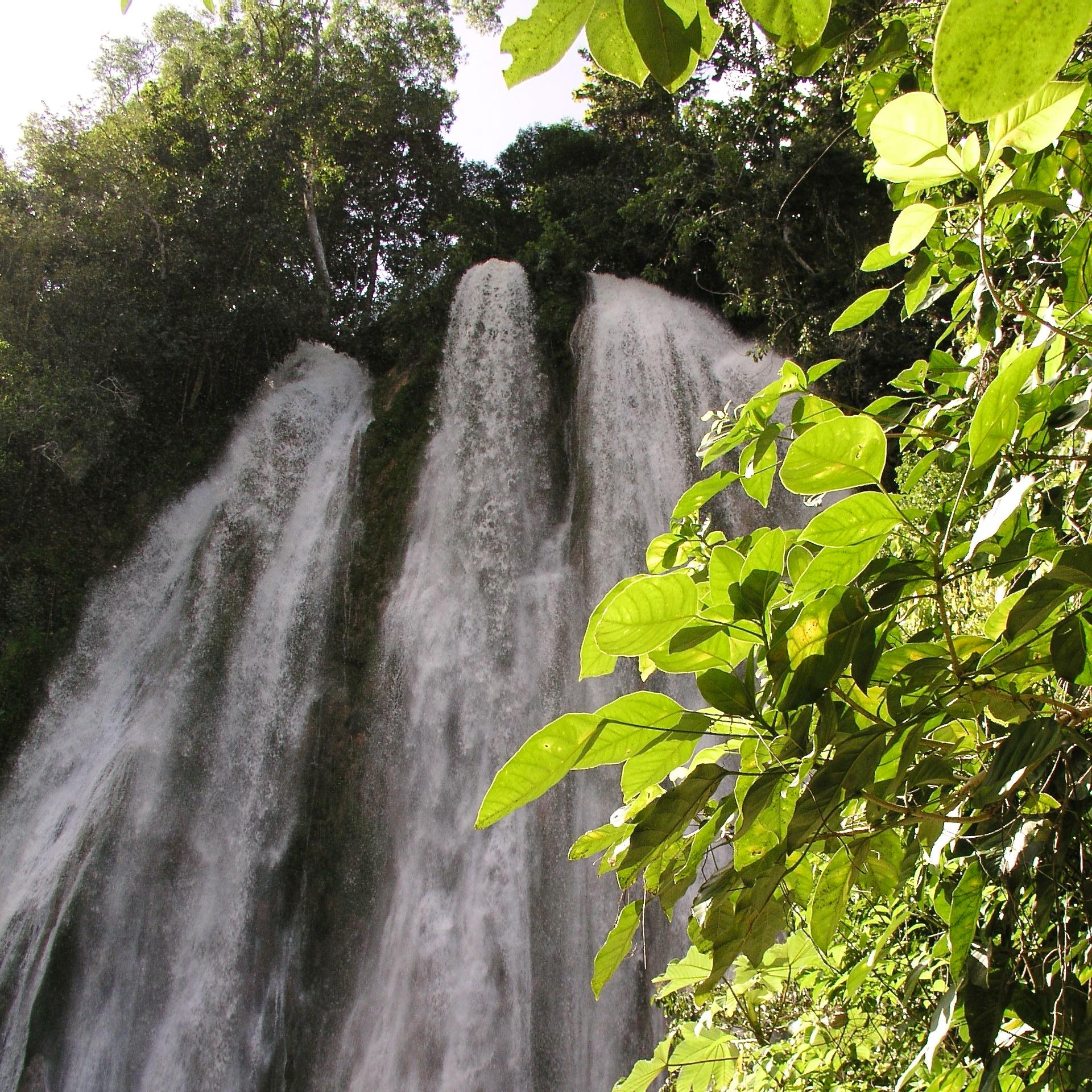 Cascada del Limón, en Samaná