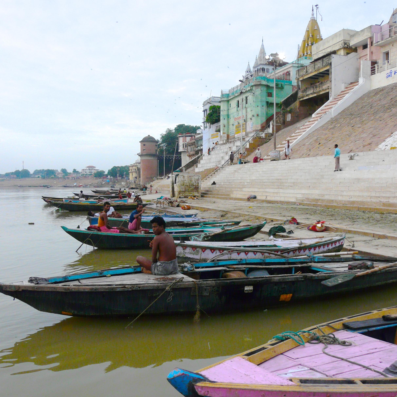 Gaths en el Ganges