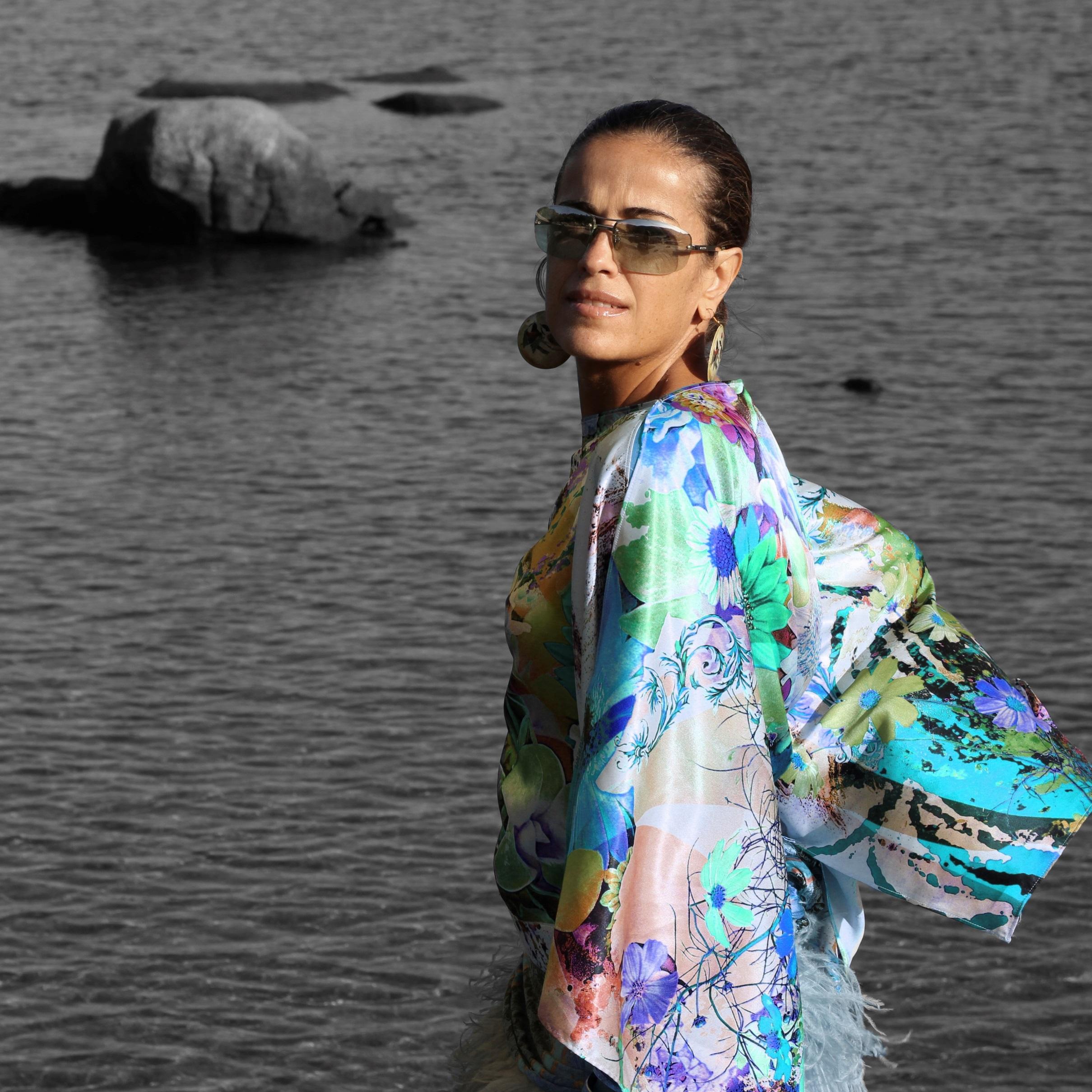 Camisa kimono comprada en Estambul