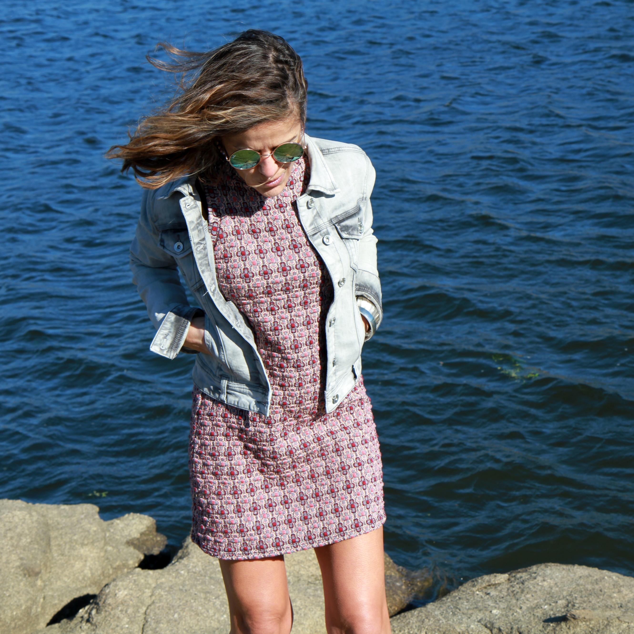 vestido de rebajas de Zara