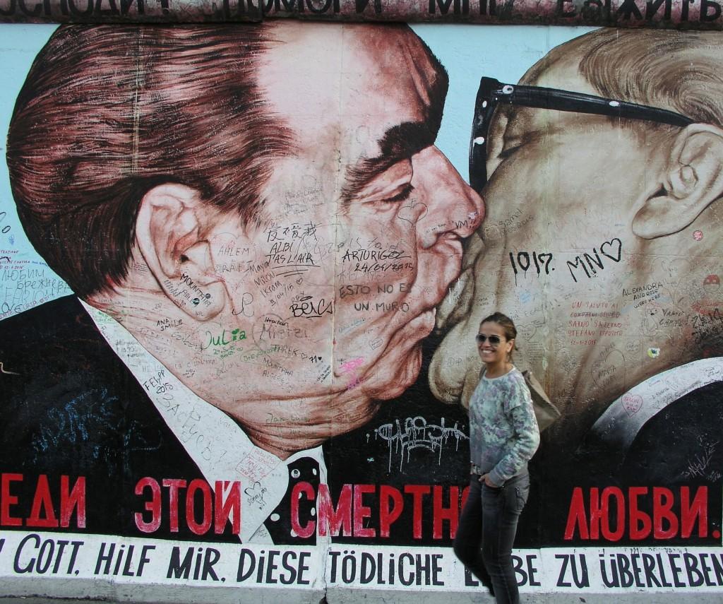 arte callejero y consolidado en el Muro de Berlín