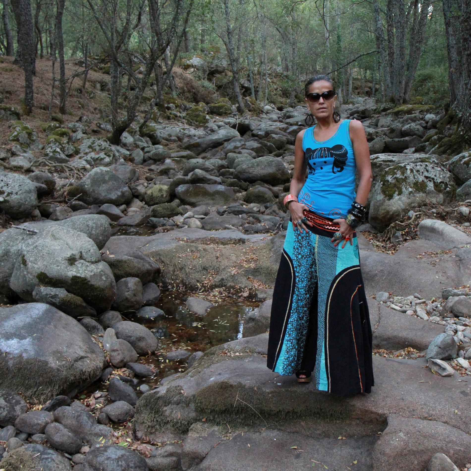Falda pantalón de Bondowoso