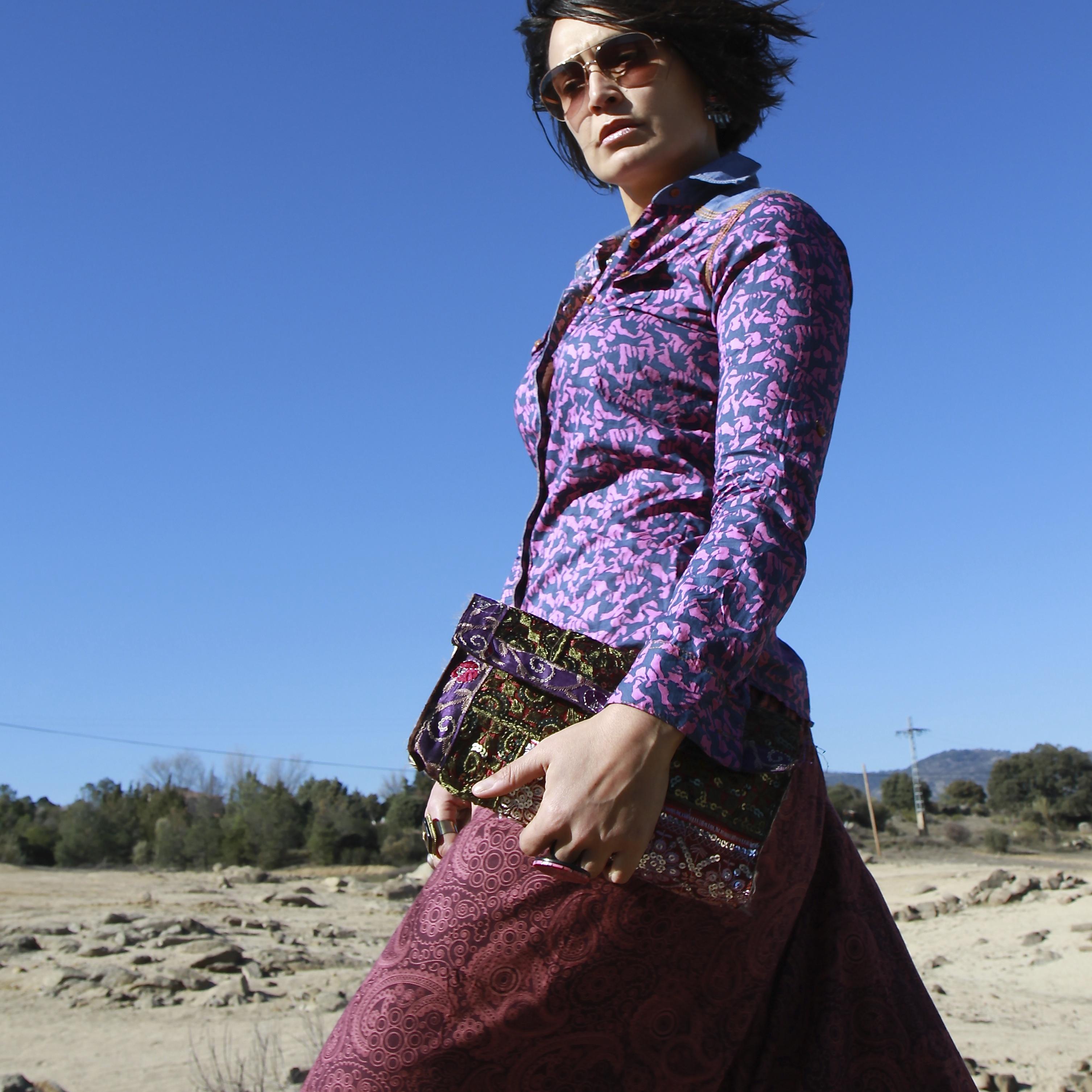 Bolsos bordados, chollos de Marrakech