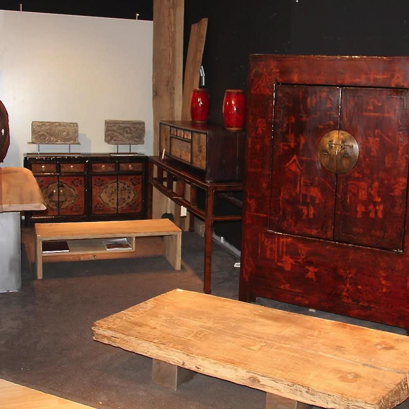 Tienda efímera de antigüedades chinas