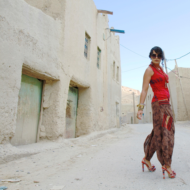 pantalones afganos