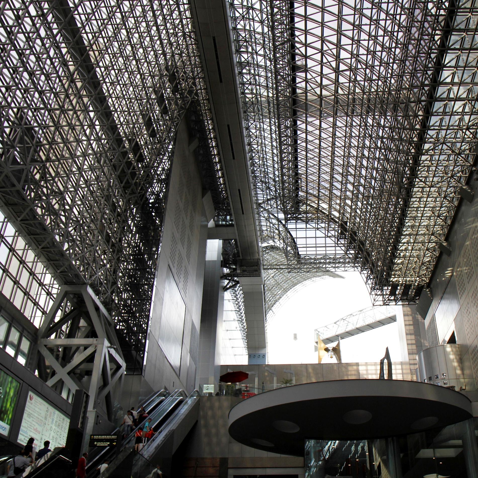 Estación trenes de Kyoto