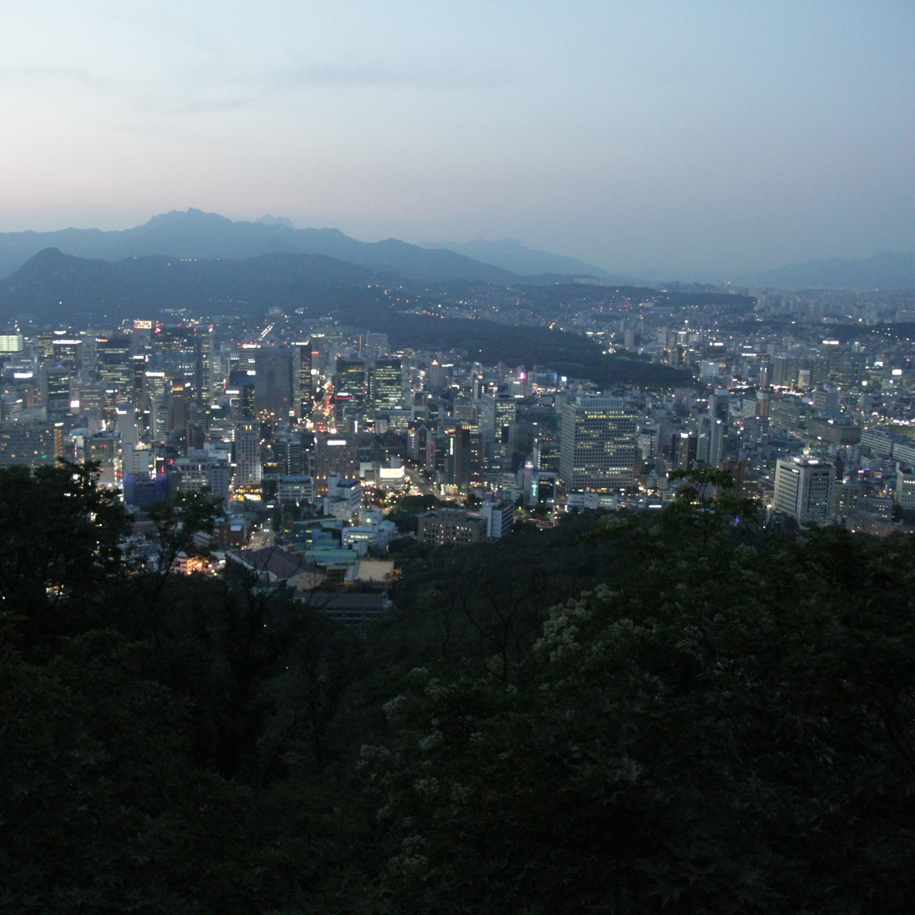 Torre panorámica en Seúl