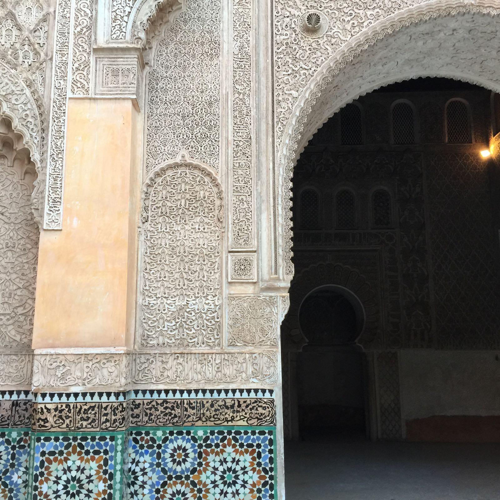 Cunsejos Marrakech. La Madraza