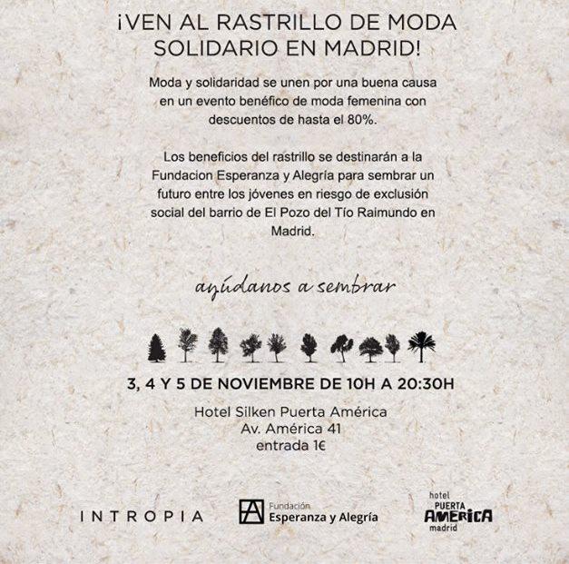 cartel rastrillo Intropia