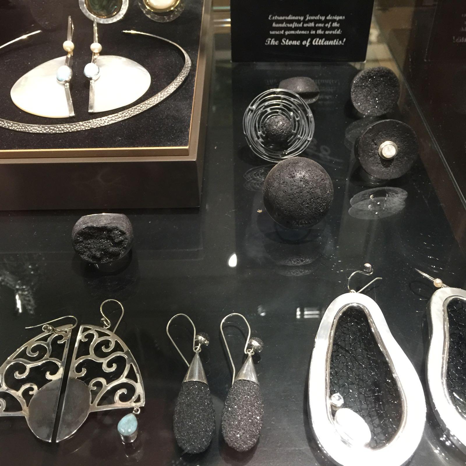 Mercadillo de joyas de plata