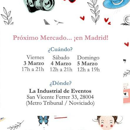 Ropa vintage. Mercadillo Madrid