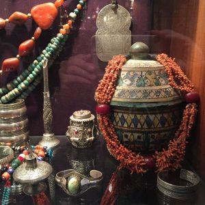 Joyas tuareg y bereber en las tiendas de Marrakech