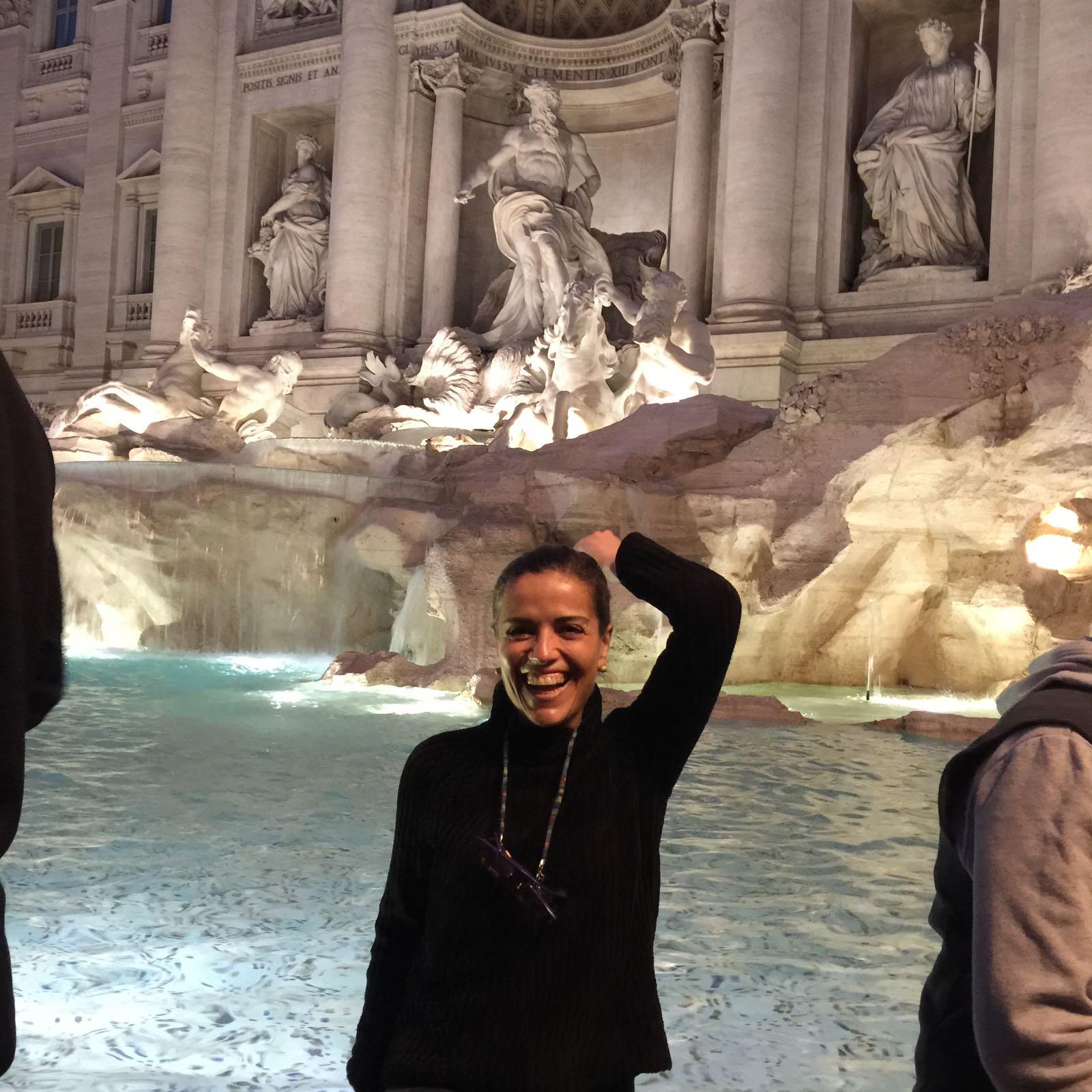 Escapada a Roma. Fontana de Trevi