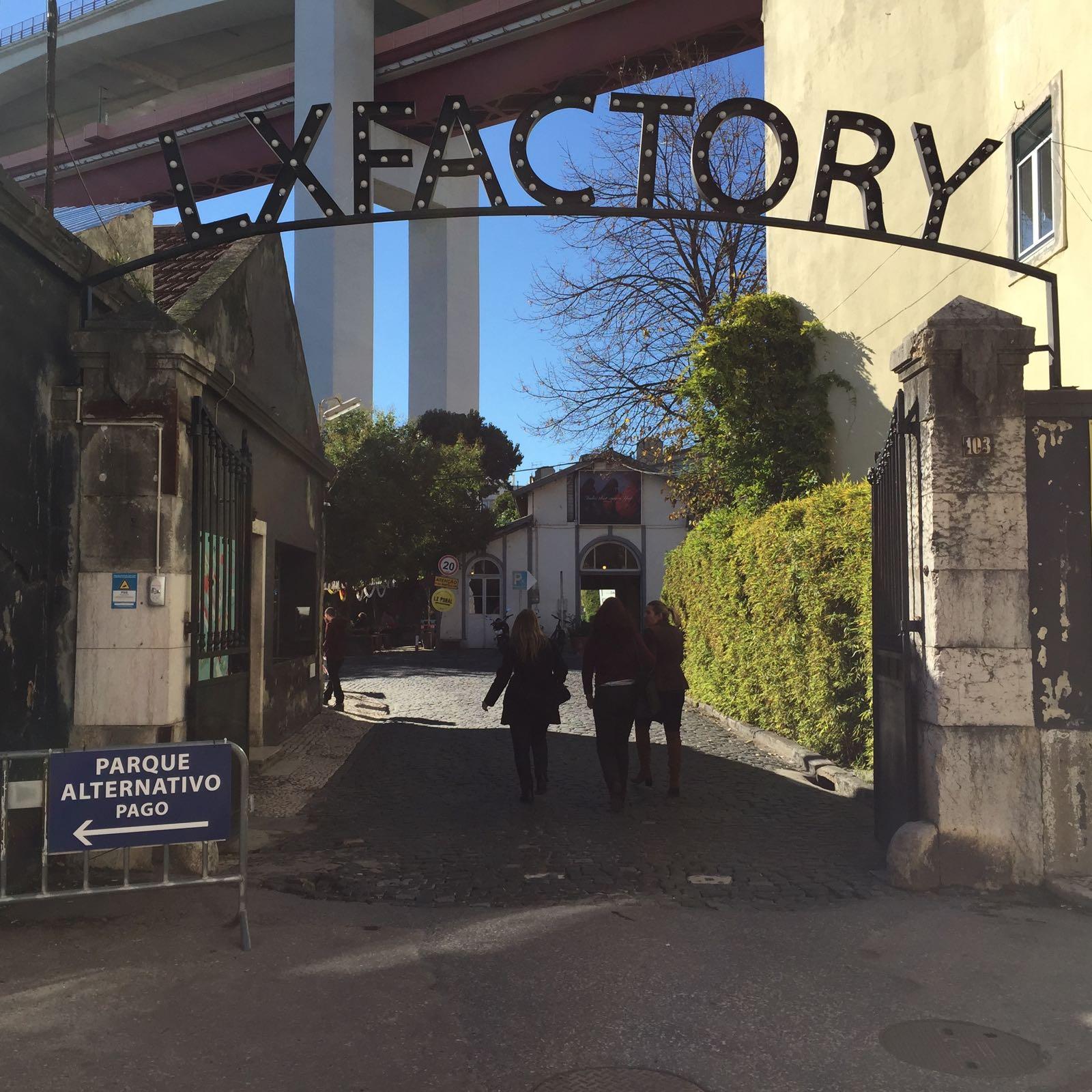 LX Factory, en Lisboa