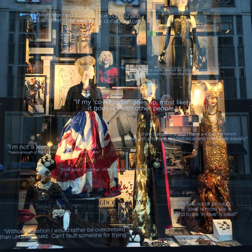 escaparates de la 5ª Avenida. Bergdorf Goodman