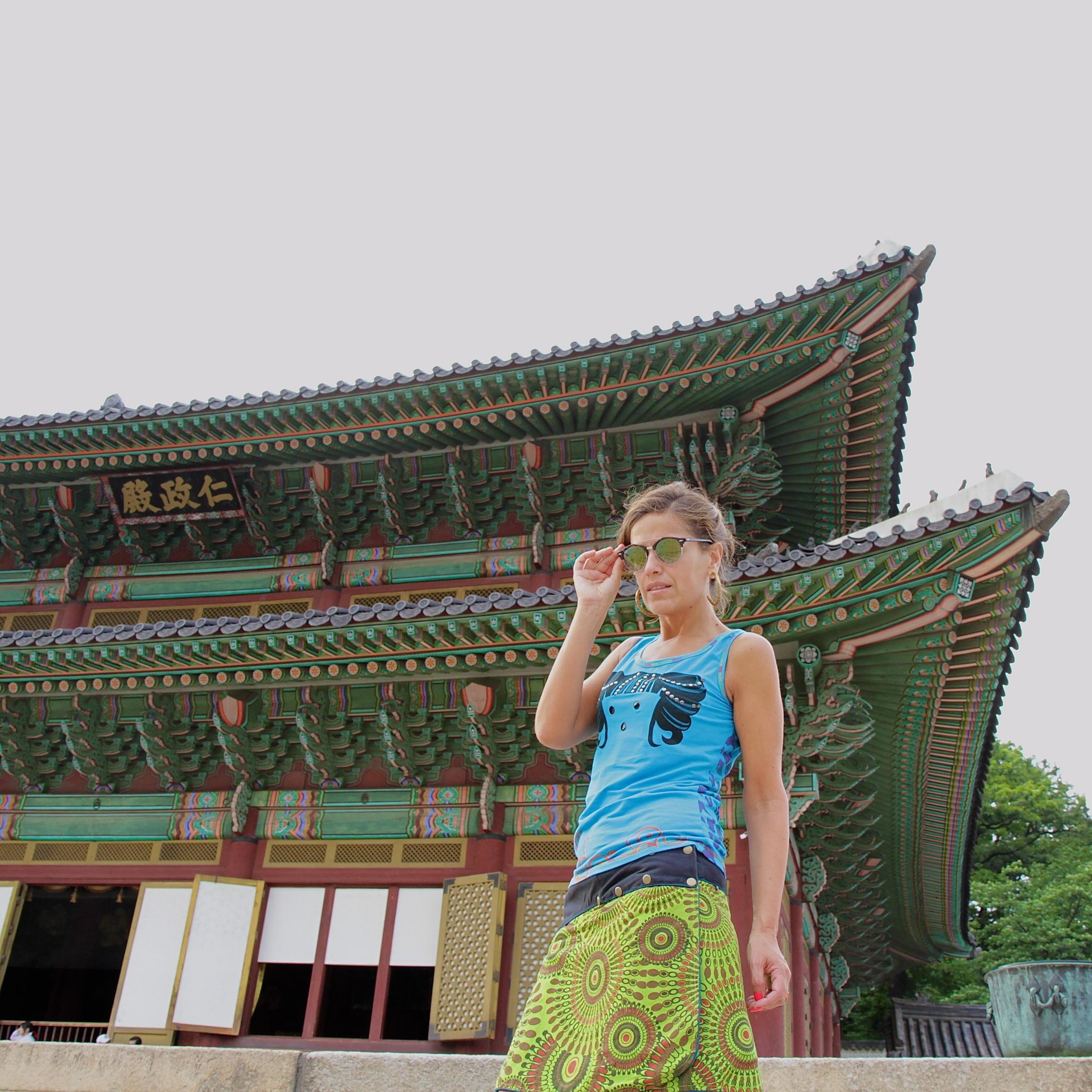 falda hippy de Nepal