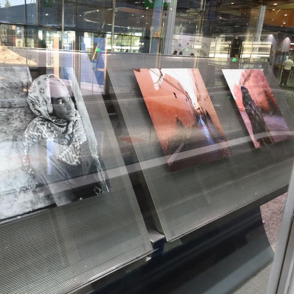 Exposición fotos viajes Iñigo Martitegui en Madrid