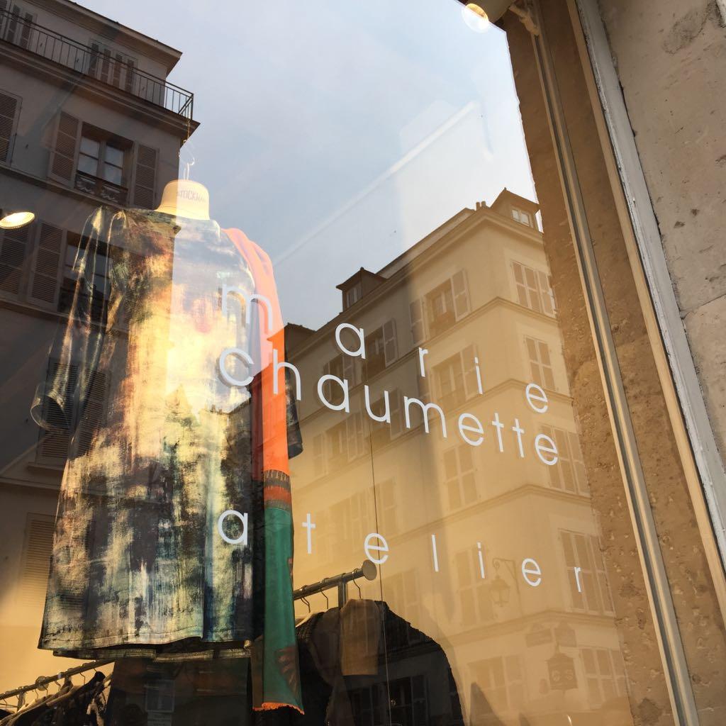 ruta de tiendas y zonas para comprar en París