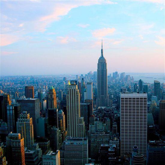 Blog de viajes, rascacielos en NY