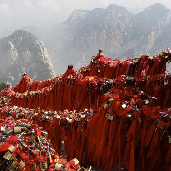 El monte sagrado de Hua Shan