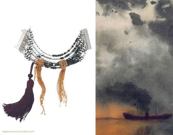 Taller de elaboración de collares inspirados en cuadros