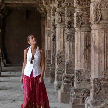 falda boho india