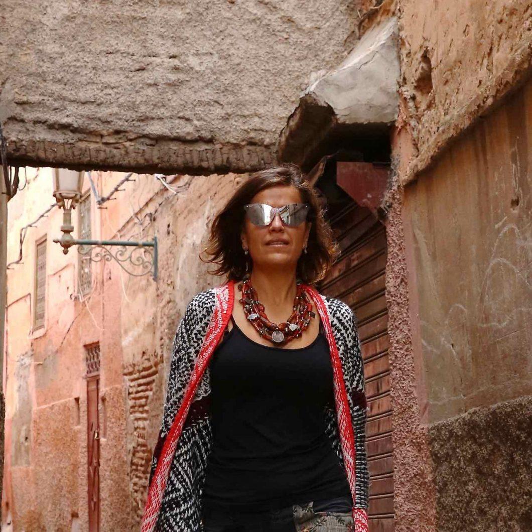 Callejuela de Marrakech