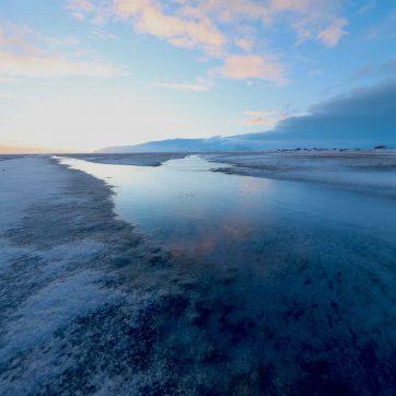 Disfrutar paisajes de Islandia