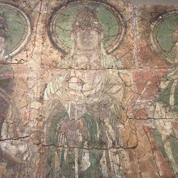 Pintura mural china en el British Museum