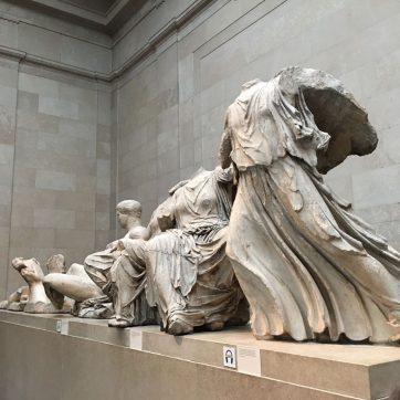 Esculturas del Partenon. British Museum