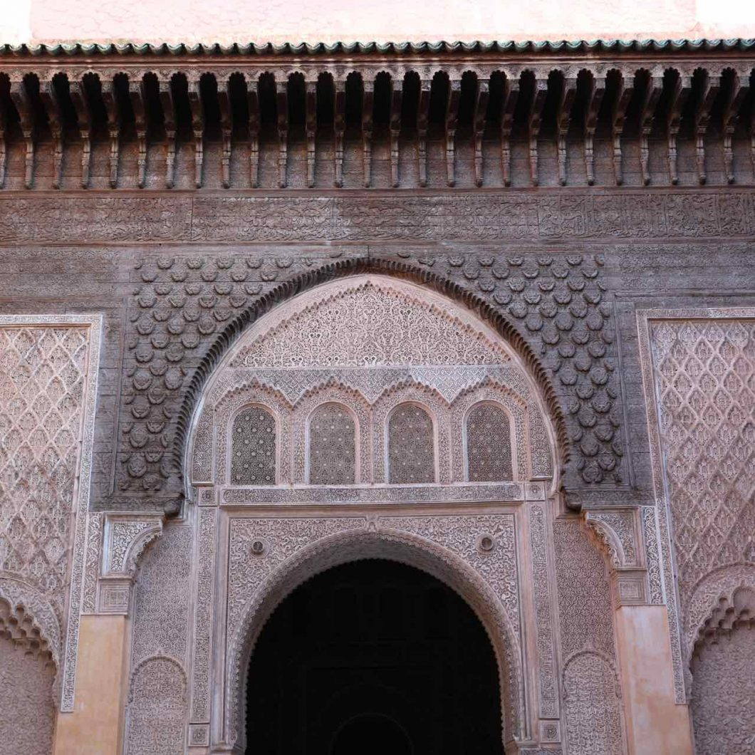 Madraza MArakkech. Consejos de cosas que no debes hacer en Marrakech