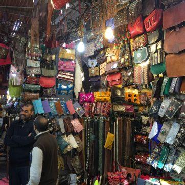 ubicarte en el zoco de Marrakech