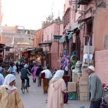 Marruecos. Ubicarte en el zoco de Marrakech