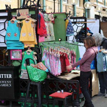 Puestos en Covent Garden
