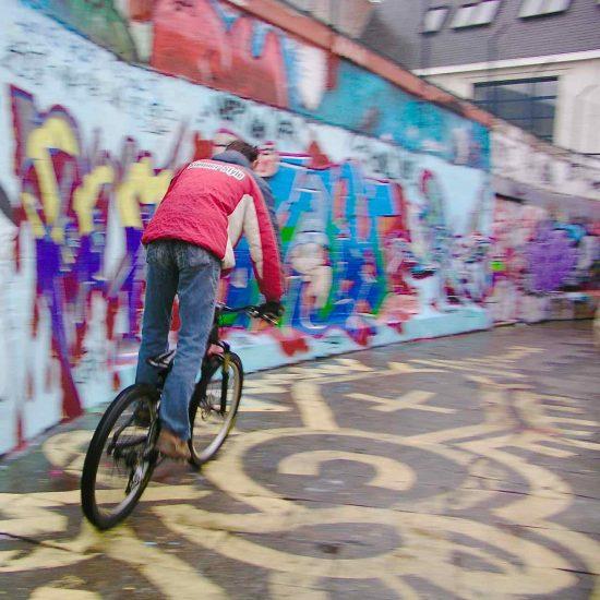 Arte callejero en Amsterdam