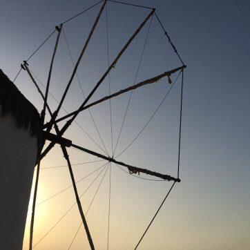 Qué ver en Mykonos: molinos de viento
