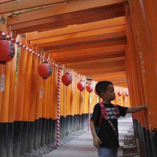 Templo de Memorias de una geisha