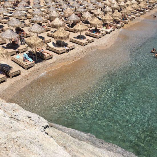 Mykonos en verano