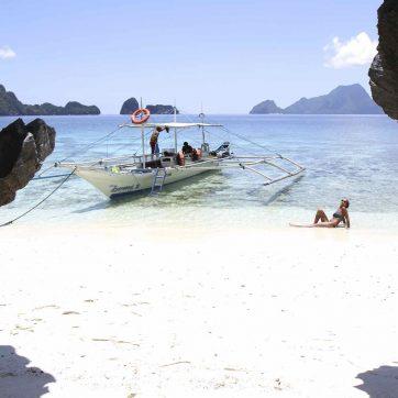 Las mejores playas de El Nido en barco