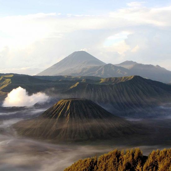 Volcán Bromo, en Java (Indonesia)