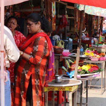 Pushamatinath, puestos de ofrendas