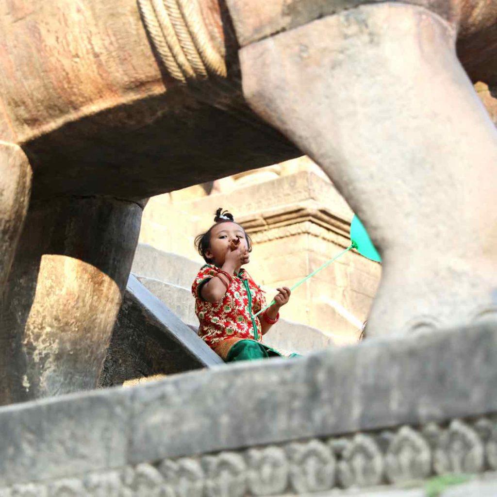festival religioso de Bhaktapur