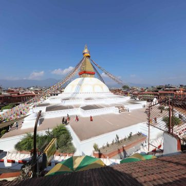 Que ver en Katmandú: stupa Boudhanath