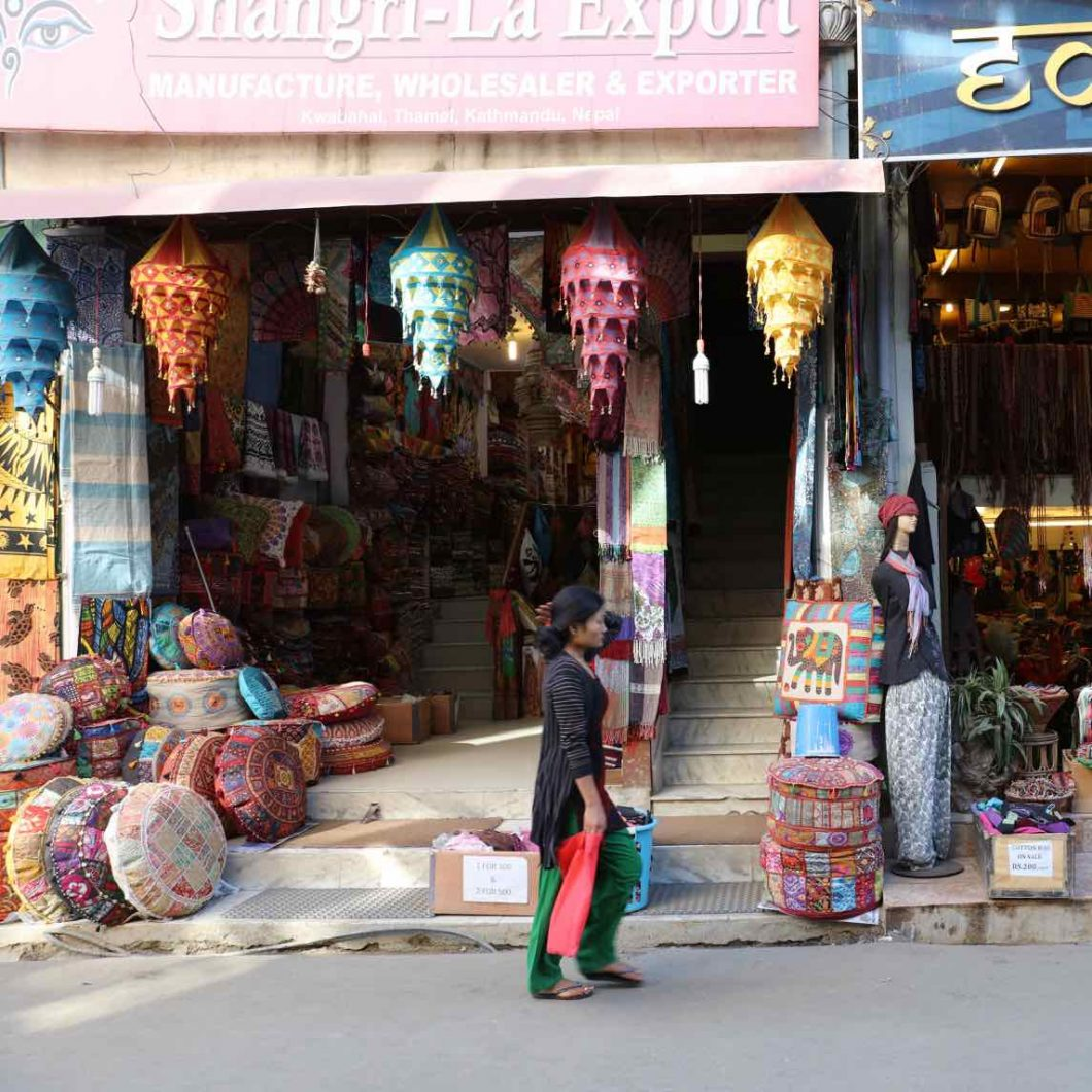 Las mejores tiendas de Katmandú en el barrio de Thamel