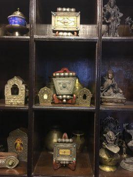 Tiendas de Katmandú: antigüedades