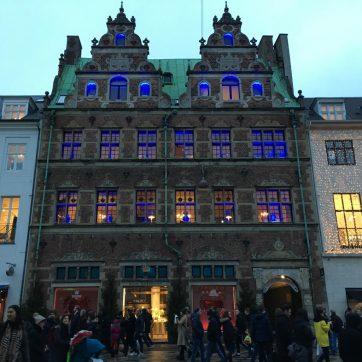 Tiendas de Copenhague, diseño
